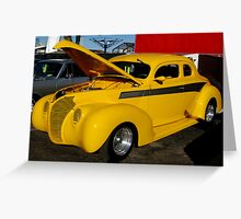 Modified 1940 Ford Greeting Card