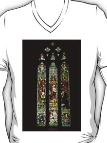 0545 Stained Glass Window T-Shirt