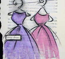 pretty dresses by CherieStrongArt