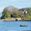 Island House, on Menai Strait, Anglesey, UK by Michaela1991