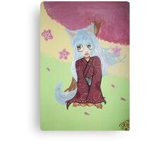 Little Hanako Canvas Print