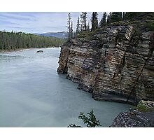 Outflow of Athabasca Falls Photographic Print