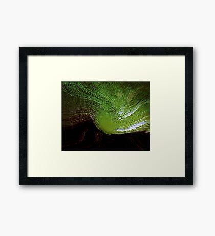 green spirit sky..... last tribute to vincent  Framed Print