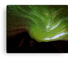 green spirit sky..... last tribute to vincent  Canvas Print