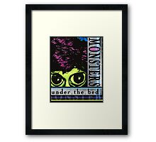 Monsters Under the Bed Framed Print