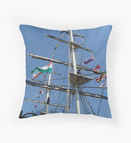 Flag Day Throw Pillow