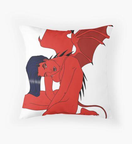 Demona Throw Pillow