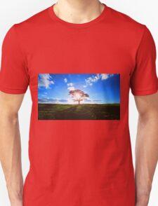 Lone Tree in Tea Unisex T-Shirt