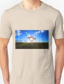 Lone Tree in Tea Unisex T-Shirt