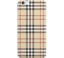 Burberry Plaid iPhone Case/Skin