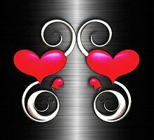 Twin Hearts by koolmann
