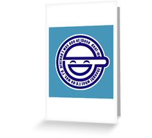 Laughing Man - Ghost in the Shell Greeting Card