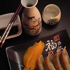 Food for sake!with a pair of chopsticks ;0) by LisaBeth