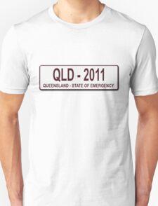 Queensland 2011 Number Plate Unisex T-Shirt