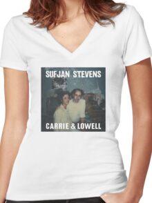 Sufjan Stevens - Carrie & Lowell Women's Fitted V-Neck T-Shirt