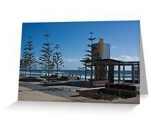 Hanlen Street - Surfers Esplanade Upgrade   Greeting Card