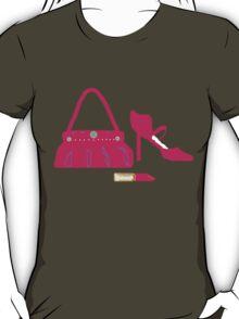 BRIGHT PINK fashion T SHIRT/STICKER T-Shirt