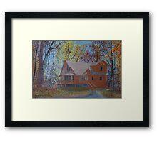 Chestnut Hills Framed Print