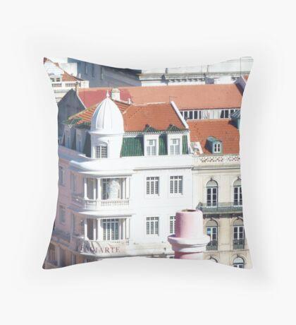 Lisbon Architecture Throw Pillow