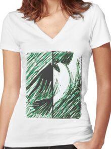 Goodnight Women's Fitted V-Neck T-Shirt