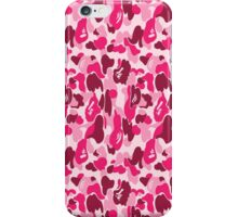 pink bape iPhone Case/Skin