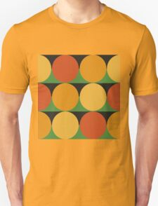 70's retro style dotted pattern T-Shirt