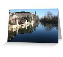 Jarnac Millpond Reflection Greeting Card