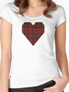 00394 Brodie Clan/Family Tartan  Women's Fitted Scoop T-Shirt