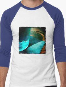 Cool Blue Men's Baseball ¾ T-Shirt