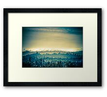 French Landscape Framed Print