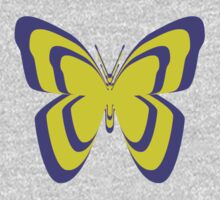 Colourful Butterfly  Kids Clothes