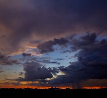 Double Bolts over Avra Valley by Cathy L. Gregg