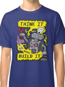 Think Build Robot Classic T-Shirt