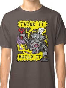 Think Build Robot Classic T-Shirt