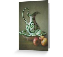 J is for...........Jug Greeting Card