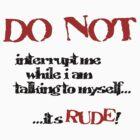 DO NOT! by DDLeach