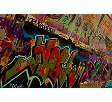 Graffiti - Wollongong Photographic Print