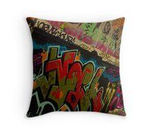 Graffiti - Wollongong Throw Pillow