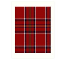 00395 Brodie (W & A Smith) Clan/Family Tartan  Art Print