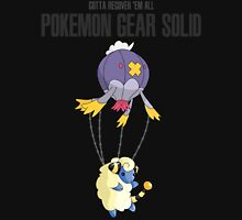 Pokemon meets Metal Gear Solid Unisex T-Shirt