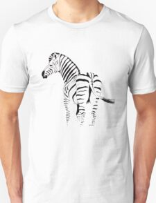 THE ZEBRA TEE - In black and white T-Shirt