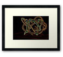 too be twirled Framed Print