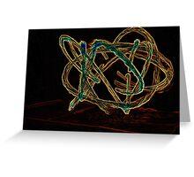 too be twirled Greeting Card