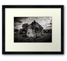 Structure Framed Print