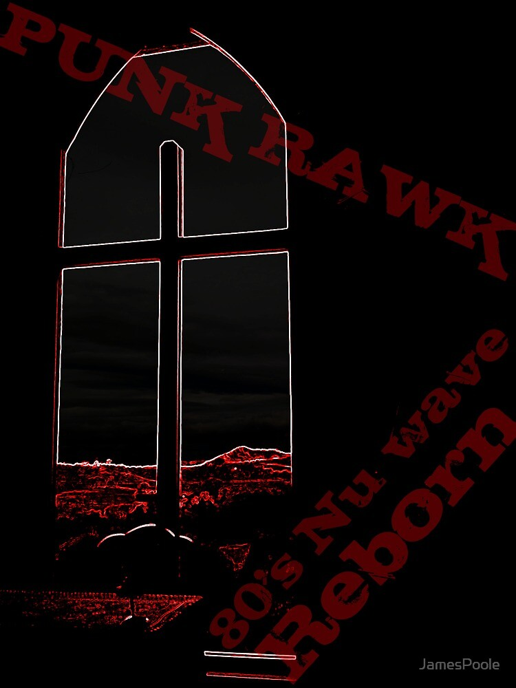 Punk Rawk Crucifix. by JamesPoole