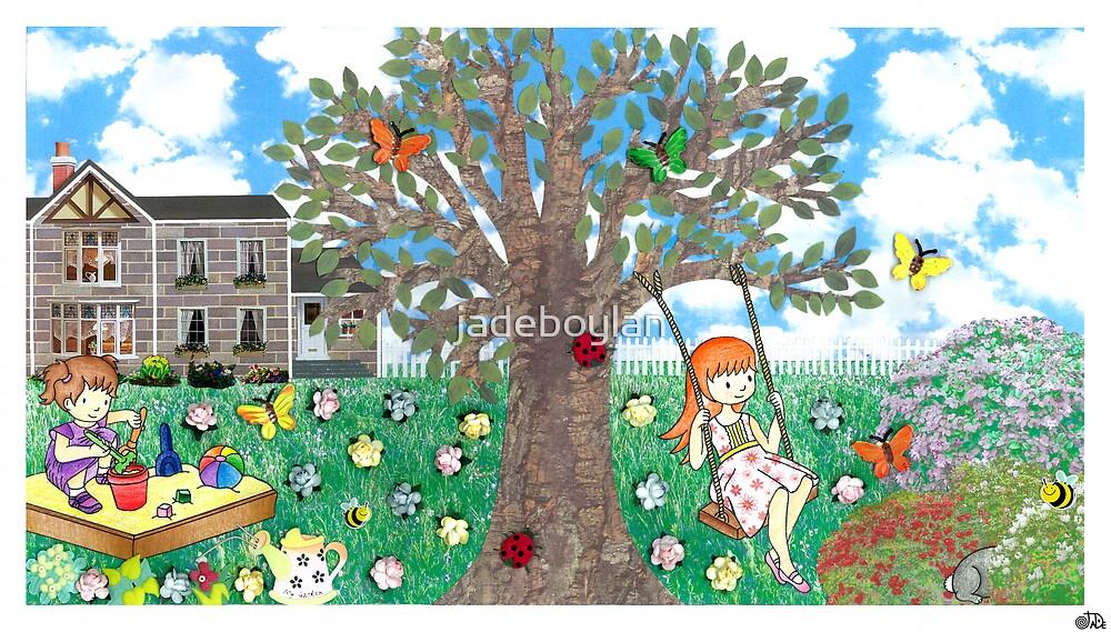 Where's Charlie? - garden by jadeboylan