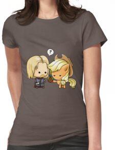 Boromir & Applejack Womens Fitted T-Shirt
