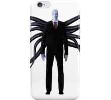 Slender Man with Black Tentacles iPhone Case/Skin