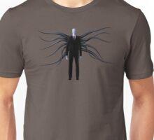 Slender Man with Black Tentacles Unisex T-Shirt