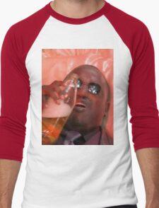 MORPHEUSDRINKINAFORTYINADEATHBASKET Men's Baseball ¾ T-Shirt